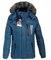Детская зимняя куртка для мальчика подростка