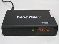 Эфирный цифровой ресивер World Vision T126 для автолюбителей