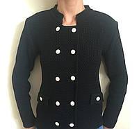Пиджак вязаный для девочек