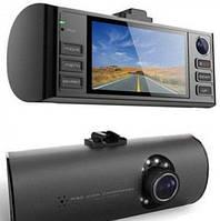 Видеорегистратор и навигатор в одном F60 GPS, G-сенсор, ночная сьемка, обзор 140°
