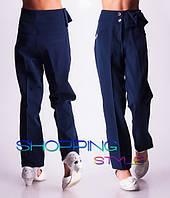 Зимние школьные брюки с начесом