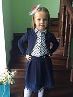 Школьный пиджак, болеро для маленьких принцесс. Разные цвета. ШБ-01