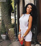 Комбинезон женский шортами без рукавов 42-44
