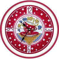 Набор для вышивки крестом Panna Ч-1581 Часы для уютной кухни