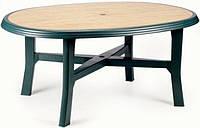 Комплект садовой мебели Wood 6, шесть кресел Arpa и стол Danubio