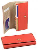 Женский оранжевый кошелек FiJi из натуральной кожи Bretton WF-1V orange