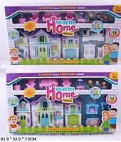 Кукольный дом  с куклами,мебелью