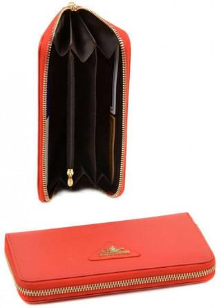 Женский современный кошелек FiJi из натуральной кожи Bretton WF-38 orange (оранжевый)