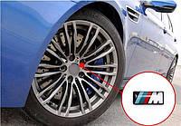 Эмблемы на диски BMW M-power