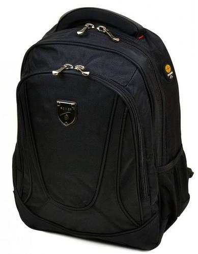 Городской рюкзак с плотной спинкой полиэстер 22 л. Power in Eavas 5231 black (черный)