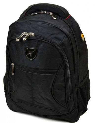 Городской рюкзак с плотной спинкой полиэстер 22 л. Power in Eavas 5228 black (черный)
