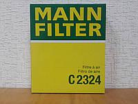 Фильтр воздушный Chevrolet Aveo | Авео Т250 - Mann C 2324