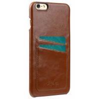 Чехол для сматф. MELKCO iPhone 6 Plus - M PU Leather Dual Card Коричневый