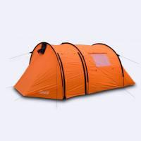 Двухслойная палатка с двумя тамбурами