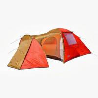 Двухслойная четырехместная палатка