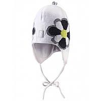 Детская  зимняя шапка для девочки Reima 518237-0100.  Размер 46, 48, 50 и 52.