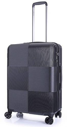 4-колесный прочный средний чемодан 72 л. MARCH Avenue 3242/04 т. синий