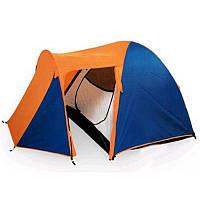 Двухслойная трехместная палатка