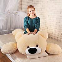 Большой медведь Умка - лежачий 125 см