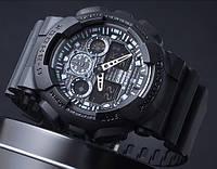 Спортивные часы Casio G-Shock GA 100 черные