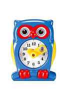 Набор для обучения Gigo Часы Сова (синий)