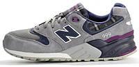 Мужские кроссовки New Balance 999, нью баланс серые