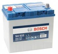 Автомобильный аккумулятор Bosch 6CT-60 S4 Silver Asia (S4025)