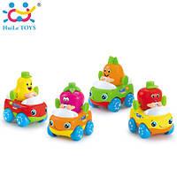 Игрушка Huile Toys Машинка Тутти-Фрутти (комплект из 4 шт)