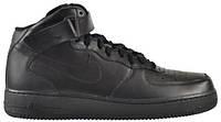 Кроссовки мужские Nike Air Force 1 Mid `07 Black