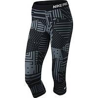 Женские бриджи  Nike Pro Patch Work