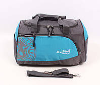 Вместительная дорожная сумка, цвет голубой
