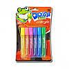 Клей с блёстками 10,5 мл «Dorgi frog» 6 цветов, неон