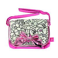 """Творчество и рукоделие «Color Me Mine» (6372203) сумочка """"Алмазный блеск"""" с бантиком, 4 маркера, 21 см"""