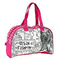 """Творчество и рукоделие «Color Me Mine» (6371197) сумочка для уикенда """"Photo real"""" с изображением собачки, 5 маркеров, 33x23 см"""
