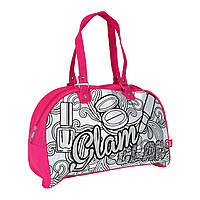 """Творчество и рукоделие «Color Me Mine» (6371193) сумочка """"Розовый Гламур"""" для уикенда, 5 маркеров, 33x23 см"""