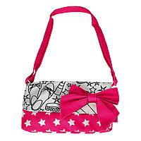 Творчество и рукоделие «Color Me Mine» (6371186) сумочка с розовым бантом, 4 маркера, 21 см