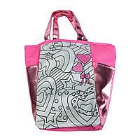 """Творчество и рукоделие «Color Me Mine» (6372377) сумочка """"Алмазный блеск"""" с розовыми вставками, 5 маркеров, 31х28 см"""