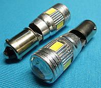 Светодиодные габаритные лампочки Ba9s / T4w с обманкой