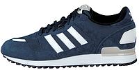 Мужские кроссовки Adidas ZX 700 (адидас) синие