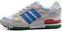 Мужские кроссовки Adidas ZX 750 (адидас) cерые