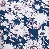 Синий цвет Женского платья облегающего с коротким рукавом Лейла