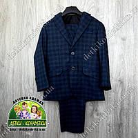 Костюм: пиджак, жилет и брюки в школу, на выпускной или торжество