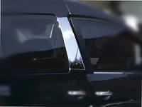 Накладка на стойки дверей Фольксваген кадди (Volkswagen CADDY), нерж. Carmos