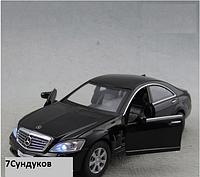 Машина металл Mercedes-benz S-klass 221 1:32