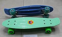 Скейт bt-ysb-0016 пластик.+ алюм.pvc колеса 7цв.49/55*15см 1,50кг кор.ш.к./8/