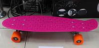 Скейт bt-ysb-0017 пластик.+ алюм.pvc колеса 55мм 4цв.56*14,5см кор.ш.к./12/