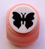 Дырокол фигурный Бабочка  3,8 см кнопка
