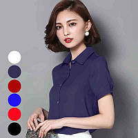 Легкая блузка в разных цветах