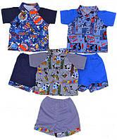Комплект на мальчика рубашка и шорты