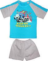 Футболка реглан и шорты для мальчика